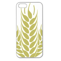 Tree Wheat Apple Seamless Iphone 5 Case (clear) by Alisyart