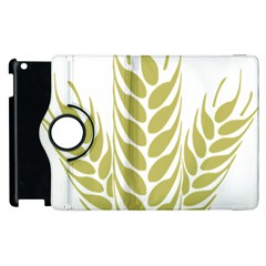 Tree Wheat Apple Ipad 2 Flip 360 Case by Alisyart