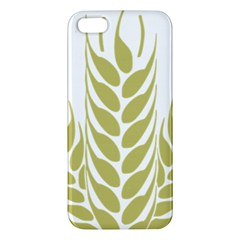 Tree Wheat Apple Iphone 5 Premium Hardshell Case