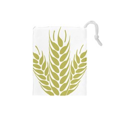 Tree Wheat Drawstring Pouches (small)