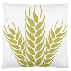 Tree Wheat Standard Flano Cushion Case (two Sides) by Alisyart