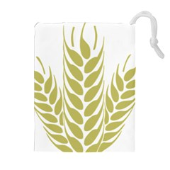 Tree Wheat Drawstring Pouches (extra Large)