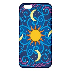 Sun Moon Star Space Purple Pink Blue Yellow Wave Iphone 6 Plus/6s Plus Tpu Case by Alisyart