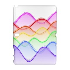 Twizzling Brain Waves Neon Wave Rainbow Color Pink Red Yellow Green Purple Blue Galaxy Note 1