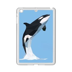 Whale Animals Sea Beach Blue Jump Illustrations Ipad Mini 2 Enamel Coated Cases