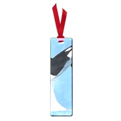 Whale Animals Sea Beach Blue Jump Illustrations Small Book Marks