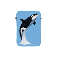 Whale Animals Sea Beach Blue Jump Illustrations Apple Ipad Mini Protective Soft Cases by Alisyart