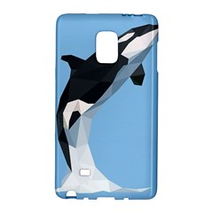 Whale Animals Sea Beach Blue Jump Illustrations Galaxy Note Edge