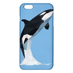 Whale Animals Sea Beach Blue Jump Illustrations Iphone 6 Plus/6s Plus Tpu Case by Alisyart