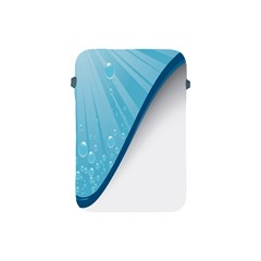 Water Bubble Waves Blue Wave Apple Ipad Mini Protective Soft Cases