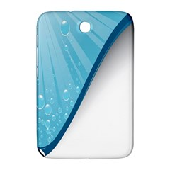 Water Bubble Waves Blue Wave Samsung Galaxy Note 8 0 N5100 Hardshell Case  by Alisyart