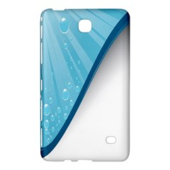 Water Bubble Waves Blue Wave Samsung Galaxy Tab 4 (7 ) Hardshell Case  by Alisyart