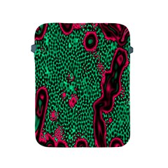Reaction Diffusion Green Purple Apple Ipad 2/3/4 Protective Soft Cases