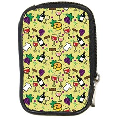 Wine Cheede Fruit Purple Yellow Compact Camera Cases by Alisyart