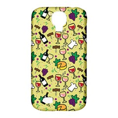 Wine Cheede Fruit Purple Yellow Samsung Galaxy S4 Classic Hardshell Case (pc+silicone) by Alisyart