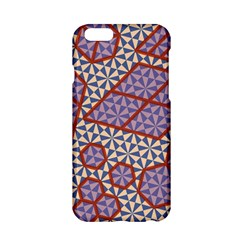 Triangle Plaid Circle Purple Grey Red Apple Iphone 6/6s Hardshell Case by Alisyart