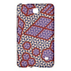 Triangle Plaid Circle Purple Grey Red Samsung Galaxy Tab 4 (8 ) Hardshell Case  by Alisyart