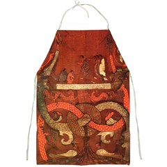 Works From The Local Full Print Aprons by Simbadda