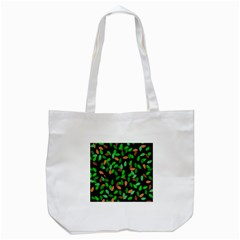 Leaves True Leaves Autumn Green Tote Bag (white) by Simbadda