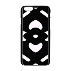 Pattern Background Apple Iphone 6/6s Black Enamel Case by Simbadda