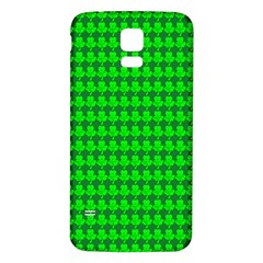 St  Patricks Day Green Samsung Galaxy S5 Back Case (white) by PhotoNOLA