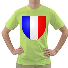Shield On The French Senate Entrance Green T-shirt by abbeyz71