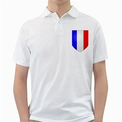 Shield On The French Senate Entrance Golf Shirts by abbeyz71