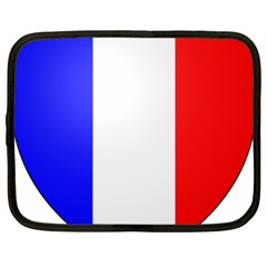 Shield On The French Senate Entrance Netbook Case (large) by abbeyz71