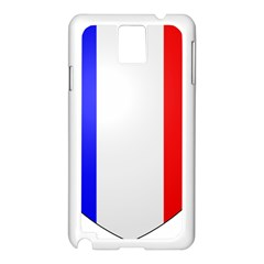 Shield On The French Senate Entrance Samsung Galaxy Note 3 N9005 Case (white) by abbeyz71