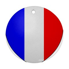 Shield On The French Senate Entrance Ornament (round) by abbeyz71