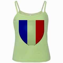Shield On The French Senate Entrance Green Spaghetti Tank by abbeyz71