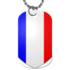 Shield On The French Senate Entrance Dog Tag (one Side) by abbeyz71