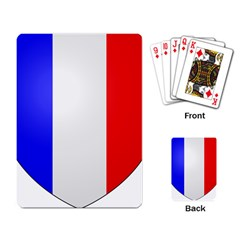 Shield On The French Senate Entrance Playing Card by abbeyz71