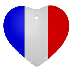 Shield On The French Senate Entrance Heart Ornament (two Sides) by abbeyz71