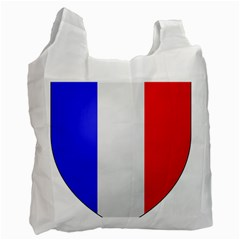 Shield On The French Senate Entrance Recycle Bag (two Side)  by abbeyz71