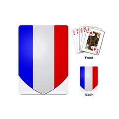 Shield On The French Senate Entrance Playing Cards (mini)  by abbeyz71