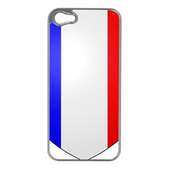 Shield On The French Senate Entrance Apple Iphone 5 Case (silver) by abbeyz71