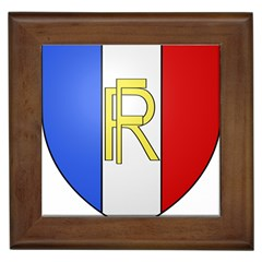Semi-official Shield Of France Framed Tiles by abbeyz71
