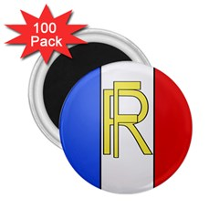 Semi-official Shield Of France 2 25  Magnets (100 Pack)  by abbeyz71