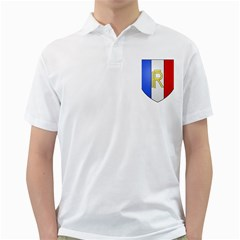 Semi-official Shield Of France Golf Shirts by abbeyz71
