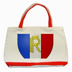 Semi Official Shield Of France Classic Tote Bag (red)