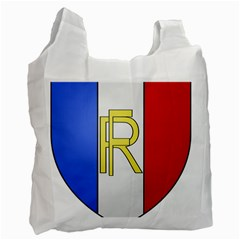 Semi Official Shield Of France Recycle Bag (one Side) by abbeyz71