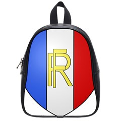 Semi-official Shield Of France School Bags (small)  by abbeyz71
