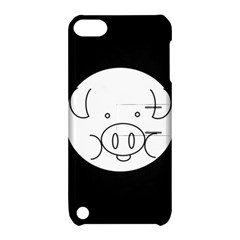 Pig Logo Apple Ipod Touch 5 Hardshell Case With Stand by Simbadda