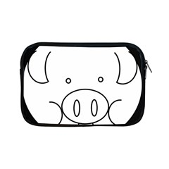 Pig Logo Apple Ipad Mini Zipper Cases by Simbadda