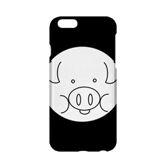 Pig Logo Apple Iphone 6/6s Hardshell Case by Simbadda