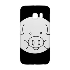 Pig Logo Galaxy S6 Edge by Simbadda