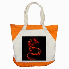 Dragon Accent Tote Bag by Simbadda