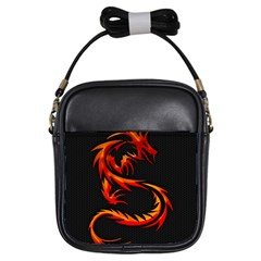 Dragon Girls Sling Bags by Simbadda