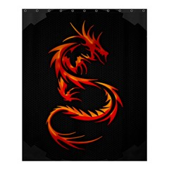 Dragon Shower Curtain 60  X 72  (medium)  by Simbadda